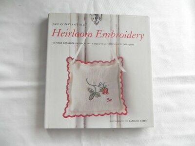 Heirloom Embroidery  - hard cover