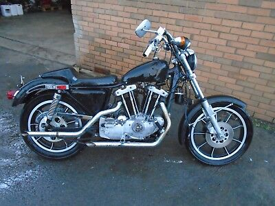 Harley Davidson Xlh1000 Sportster Ironhead Bike (1979) Us Import! Matching No's!