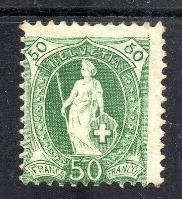 Switzerland - 1905 Definitives standing Helvetia Mi. 78D MH