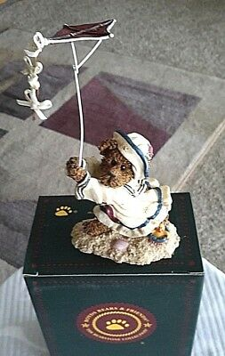 Boyd's Resin Bearstone~YARDLEY STARBOARD w/BUOY~Whatever Floats..~NEW~#227761~1E