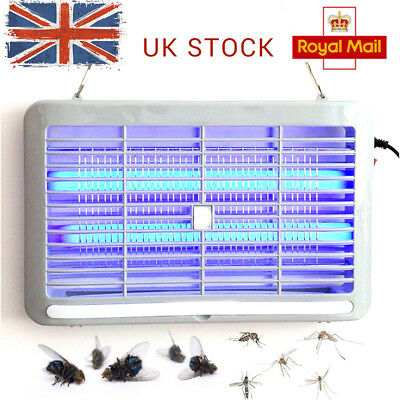 Electric UV Insect Killer Mosquito Pest Fly Bug Zapper Catcher Trap LED Light UK