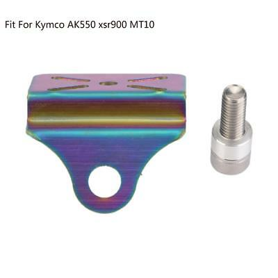 Motorcycle Water Temperature Meter Bracket Colorful For Kymco AK550 xsr900 MT10