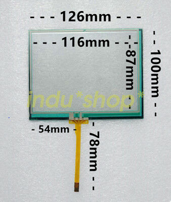 New for Siemens 5.6-inch reverse line resistive LCD touch screen glass 126*100