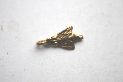 ANCIENT EGYPTIAN GOLD FLY AMULET 30th DYN 350 BC DYNASTIC