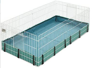 "47"" Homes For Pets Large Guinea Pig Habitat Cage Size Large Made By MidWest"