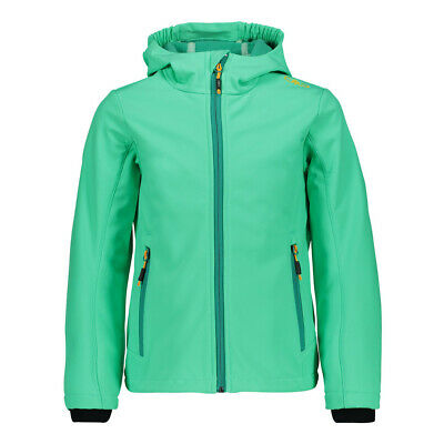 Softshell In Pile Bambini Ragazze Giacca Transizione Outdoor Nuovo