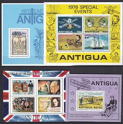 ANTIGUA 4 X DIFFERENT S/S (ref 18) MINT NEVER HINGED
