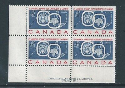 Canada #387a LL PL BL St.Lawrence Seaway Inverted *Fake* MNH **Free Shipping**