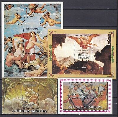 ANTIGUA 4 X DIFFERENT S/S (ref 26) MINT NEVER HINGED