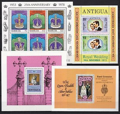 ANTIGUA 4 X DIFFERENT S/S (ref 29) MINT NEVER HINGED