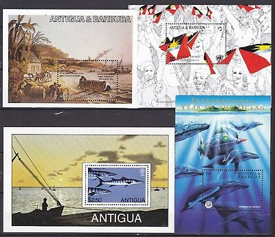 ANTIGUA 4 X DIFFERENT S/S (ref 30) MINT NEVER HINGED