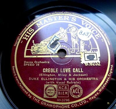 1687/ DUKE ELLINGTON-Creole love call-KLASSIKER 1927 ORIGINAL-78rpm Schellack
