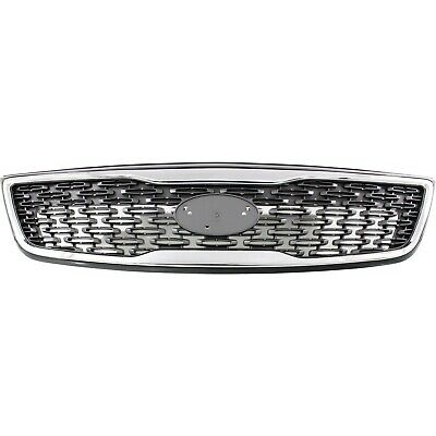 CAPA Certified Multiple Manufacturers KI1200125C OE Replacement Kia Rio Grille Assembly