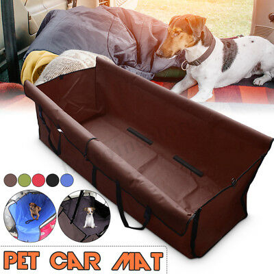 Pet Dog Cat Car Rear Back Seat Waterproof Cover Safety Mat Protector