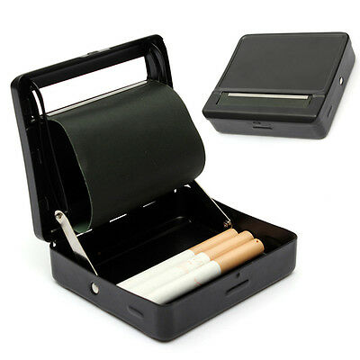 Automatic Cigarette Tobacco Rolling Machine Metal Roller Box Case Tin Up