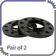 2 x 12MM  BLACK HUBCENTRIC ALLOY WHEEL SPACERS FIT MERCEDES REAR 5x112 66.6