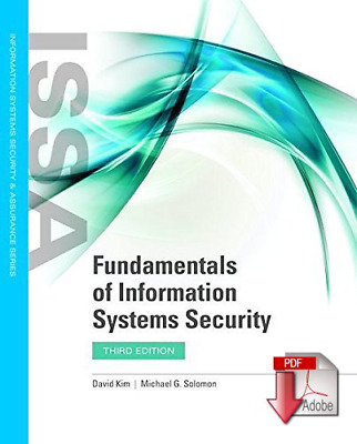 🔥 Fundamentals of information systems security 3th Edition { PDF } 🔥