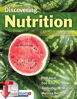 🔥 Discovering Nutrition 6th Edition - instant delivery { PDF } 🔥