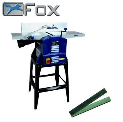 "FOX 10"" x 5"" Timber Wood Planer Thicknesser With Legstand F22-564-250"