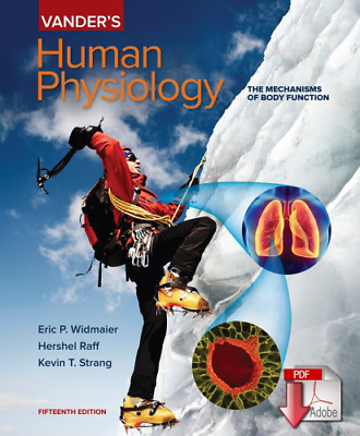 🔥 Vander's Human Physiology 15th Edition { PDF } 🔥