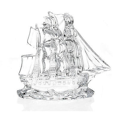 """Waterford Crystal Dunbrody 6"""" Tall Ship Collectible"""