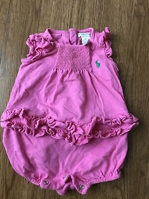 Ralph Lauren Baby (girl ) One Piece  9 Months Outfit