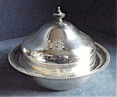 SUPERB ~ James Dixon for HARRODS ~ SILVER Plated ~ Muffin SERVING Dish ~ c1920