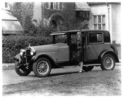 1928 Hudson Standard Sedan ORIGINAL Photo Negative nad5738