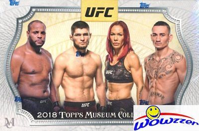 2018 Topps UFC Museum Collection Factory sealed HOBBY BOX-3 AUTOGRAPH/RELIC
