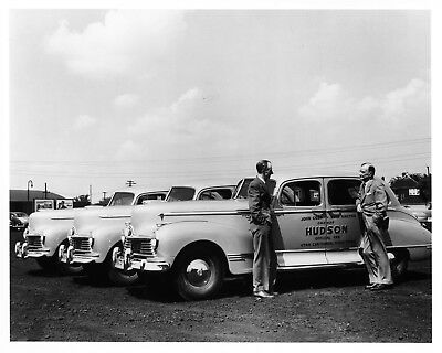1947 Hudson ORIGINAL Photo Negative John Cobb Reid Railton Bonneville nad5912