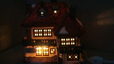 """DEPARTMENT 56 DICKENS' Village Series 1989 """"MR. WICKFIELD SOLICITOR"""" 5550-6"""