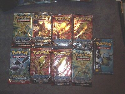 11 Pokemon 10 Card Booster Packs - Sealed - See List -  L7
