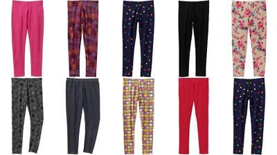 Girls Leggings 4/5 7/8 10/12 14/16 Assorted Colors Styles NWT FADED GLORY