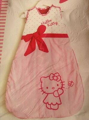 hello kitty sleeping bag 0-6 months 2.5 Tog baby girl newborn Christmas gift