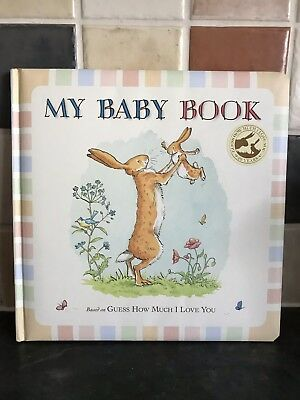 Guess How Much I Love You - My Baby First Year Book - NEW