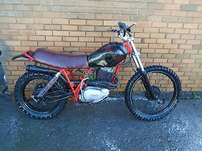 Honda Xl500S Custom Scrambler (1979) Red! Us Import! No Res! Rare Spares/repair!
