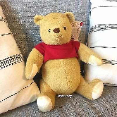 Disney Winnie the Pooh POOH Plush from Christopher Robin Movie (READY TO SHIP)