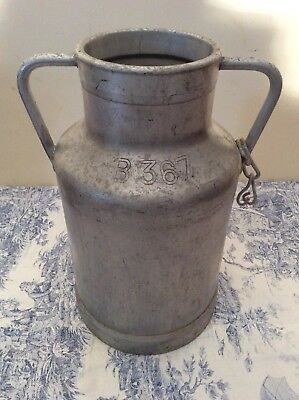 Rare Size Vintage French Milk Churn - Wedding, Garden Planter Umbrella (2322)