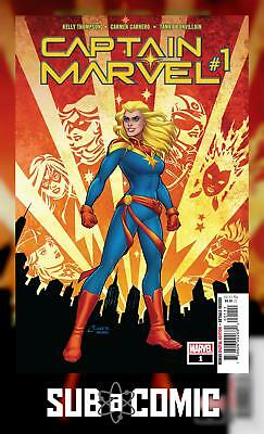 CAPTAIN MARVEL #1 (MARVEL 2019 1st Print) COMIC