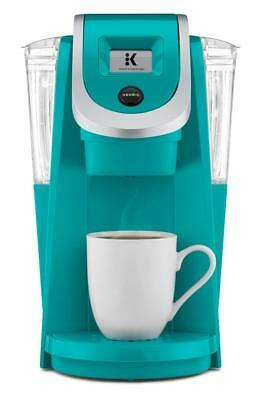 ~ Keurig HOT K250 Plus K-Cup Pod Coffee Maker Touch Screen Brewer Turquoise NEW