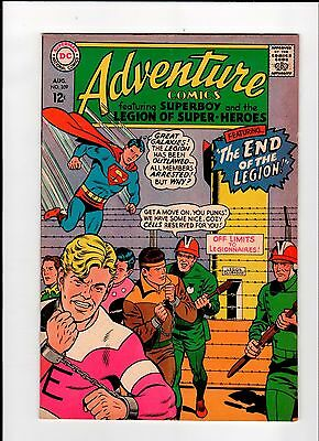 DC ADVENTURE COMICS #359 Superboy 1967 VG+ Vintage Comic