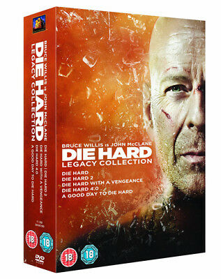 DIE HARD Legacy Collection Films 1-5 DVD Box-Set NEW 2013