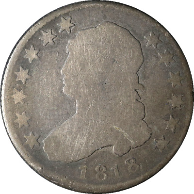 1818 Bust Quarter Great Deals From The Executive Coin Company