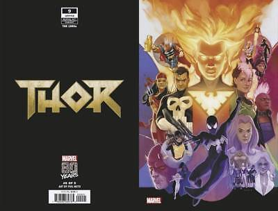 Thor #9 War of the Realms Noto Variant Marvel Comic 1st Print 2019 NM