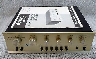 Vintage Dynaco PAT-5 Preamplifier for Parts or Repair