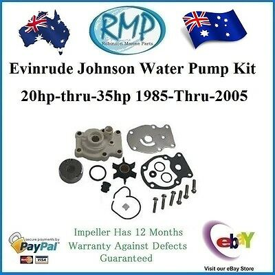 A Brand New Evinrude Johnson Outboard Water Pump Kit 20hp-thru-35hp # R 393630
