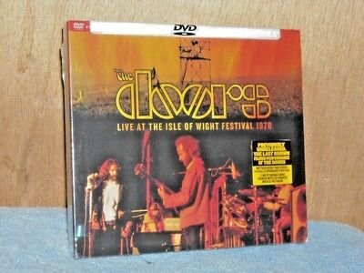 The Doors Live At The Isle Of Wight Festival 1970 (DVD/CD, 2017, 2-Disc Set) NEW