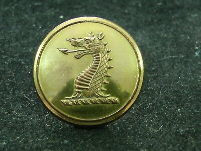 WILKINS FAMILY, WALES WYVERN'S HEAD 26mm GILT LIVERY BUTTON G&W BOGGETT 1835-38