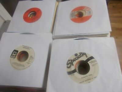 Auction of 485 northern soul/funk/r&b 45s some rare all listed free shipping