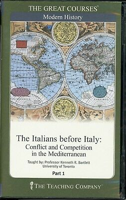 The Great Courses: The Italians before Italy  - 12 Audio CDs
